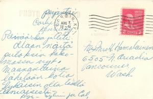 1940s RPPC; Cumberland Falls, Cumberland Falls State Park, Corbin KY Cline?