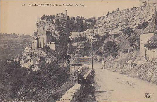 L'Entree Du Pays, Rocamadour (Lot), France, 1900-1910s