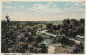 EAST AURORA, New York, 1900-10s; Roycroft Park
