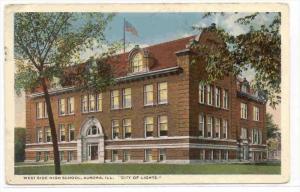 West Side High School, AURORA , Illinois, PU-1916