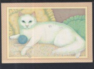 Cat With Ball of Yarn BIN