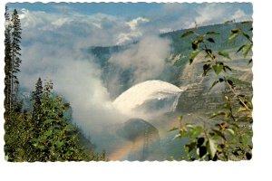 Spillway Overflow of Bennett Dam, British Columbia,