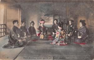 Japan Final Wedding before Family and Match Makers