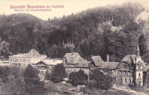 Giesshubl Sauerbrunn Bei Karlsbad, Beamten- Und Versendungsgebaude, Lower Aus...
