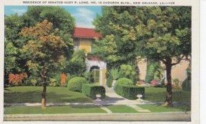 NEW ORLEANS , Louisiana , 1910-30s ; Huey P. Long House