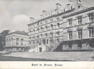 z15  A vintage 1930s Christmas card from the owners of Hotel De France - it ...