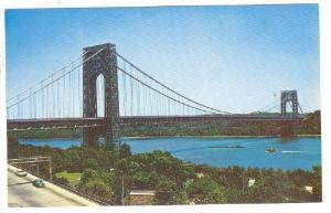 George Washington Bridge And Hudson River, New York, 40-60´s
