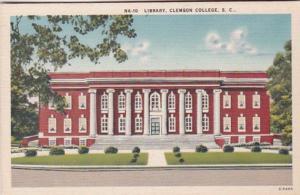 South Carolina Clemson Library Clemson College