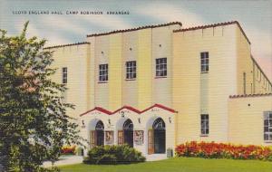 Lloyd England Hall Camp Robinson Arkansas