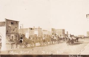 RP: MIDALE, Saskatchewan, Canada;  Main Street