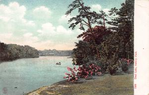 Deal Lake, Asbury Park, New Jersey, Early Postcard, Unused