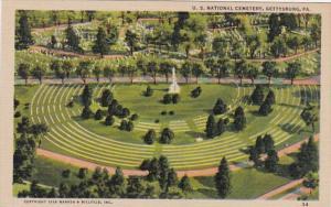 Pennsylvania Gettysburg U S National Cemetery