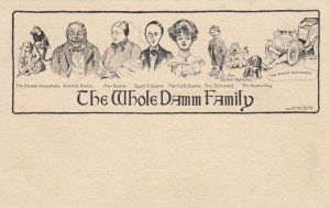 The Whole Dam Family , 1901-07