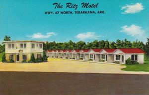 Arkansas Texarkana The Ritz Motel