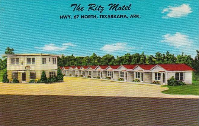 Arkansas Texarkana The Ritz Motel