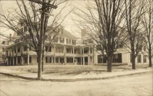Wellesley MA The Eliot c1915 Real Photo Postcard