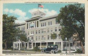 CLEARWATER , Florida, 1900-10s ; Gray Moss Inn