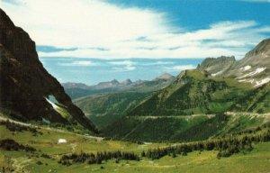 Postcard Going to the Sun Highway Glacier National Park Montana