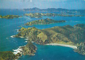New Zealand Bay Of Islands Towards Cape Brett Northland