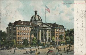 Vintage Postcard High School, Altoona, Pa., Pub. by A.C Bosselman & Co