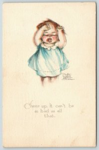 Ruth Welch Siver~Cheer Up: Can't Be as Bad as All That~Lil Girl Cries~Pulls Hair
