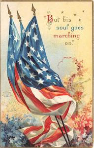Memorial Day, Ellen H Clapsaddle Holiday Postal Used Unknown