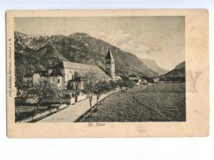 172473 AUSTRIA St.ZENO view Vintage postcard