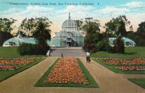 USA Conservatory Golden Gate Park San Francisco California 01.57