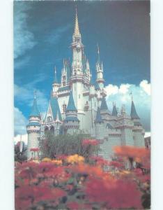 Pre-1980 CINDERELLA CASTLE AT DISNEY WORLD Kissimmee - Orlando Florida FL E3824