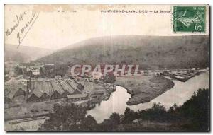 Old Postcard Montherme Laval Dieu The semoy