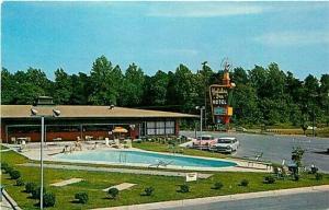 NC, Greensboro, North Carolina, Holiday Inn, Curteichcolor No. 9C-K1416
