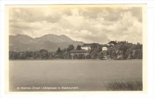 RP, Herren-Insel i. Chiemsee m. Restaurant, Bavaria, Germany, 1920-1940s