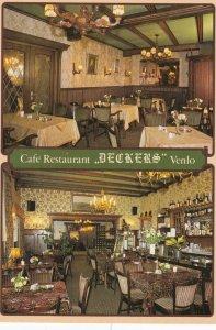 AMSTERDAM , Netherlands , 1950-70s ; Cafe Restaurant Deckers