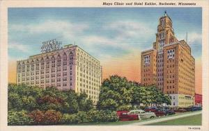 Minnesota Rochester Mayo Clinic And Hotel Kahler 1942