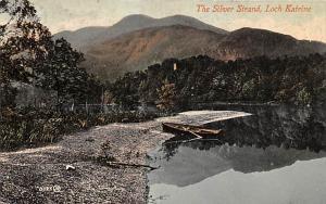 Scotland, UK Old Vintage Antique Post Card The Silver Strand Loch Katrine Unused