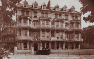 Imperial Hotel Ilfracombe Devon Unique Old Postcard