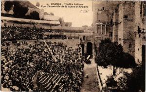 CPA ORANGE - Theatre Antique - Vue d'ensemble de la Scene et Gradins (511802)