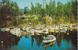 Canada Scott Point Marina Long Harbor Salt Spring Island