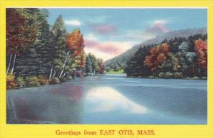 Massachusetts Greetings From East Otis