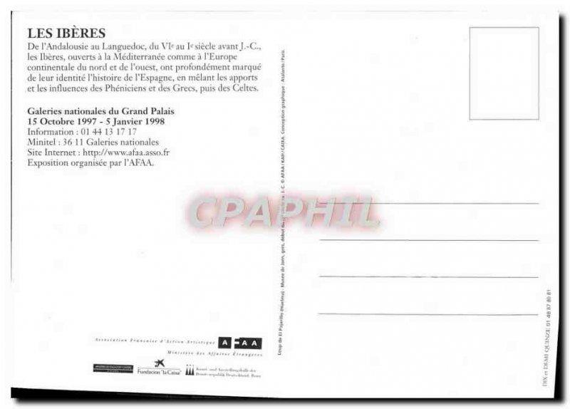 Postcard Modern Iberians Grand Palais in 1998
