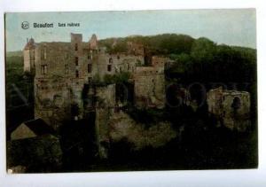 158209 LUXEMBOURG BEAUFORT Ruines Postmark HOTEL CHEVAL BLANC