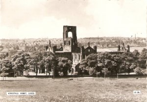 Kirkstall Abbey. Leeds Tuck Real Pgotograph PC # LD 286. Cont. Size