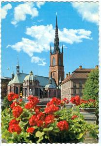 Sweden, Stockholm, Riddarholmskyrkan, 1975 used Postcard
