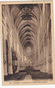 France Lisieux Interieur de l'Eglise Saint-Jacques 1927