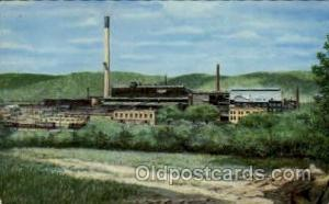 Pittsburgh & Lake Erie Railraod Company Josephtown, PA, USA Postcard Post Car...