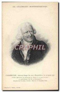 Postcard Old Parmentier Agronomist
