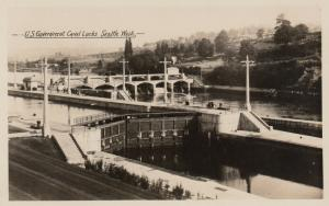 RP; SEATTLE, Washington, 1920-40s ; U. S. Government Locks, # 2