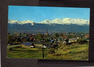 CO Mining Town Mines Leadville Colorado Postcards City View