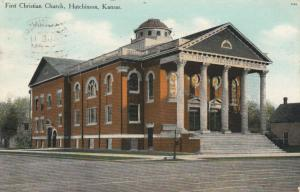 HUTCHINSON , Kansas , PU-1909 ; First Christian Church