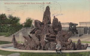 SOMERVILLE, Massachusetts; Wilson Fountain, Central Hill Park, PU-1912